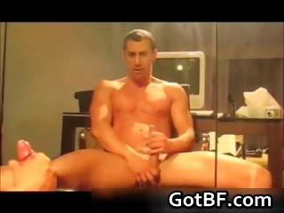 Marketable amateur guys jerking off