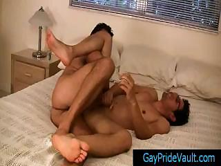 Twink gets anus rimmed and fingered part3