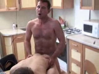 Dad fucks his boy in Nautical galley