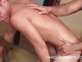 Hard Muscled Latinos Doing Anal