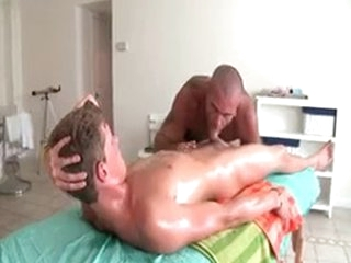 Sexy Mendicant Gets Oiled Up And Prepped For Gay Massage 3 By GotRub