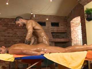Charming beam is delighting twink with wet fellatio